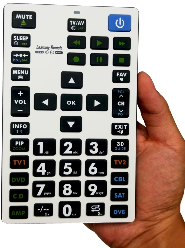 Jumbo Remote Control The Jumbo Universal Remote