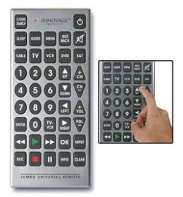 jumbo universal remote control rh jumboremotecontrol com Innovage Jumbo Universal Remote Control Innovage Jumbo Universal Remote Control